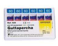 POINTES DE GUTTAPERCHA ISO Nº 15-80 ZIPPERER-VDW